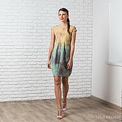 Одежда handmade. Livemaster - original item Felted dress-tank