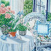 Картины и панно ручной работы. Ярмарка Мастеров - ручная работа Вышитая картина НА РАССВЕТЕ. Handmade.