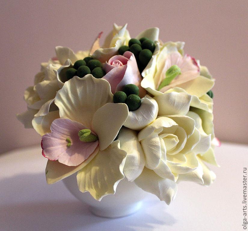 Букеты из японских цветов своими руками мастер класс фото