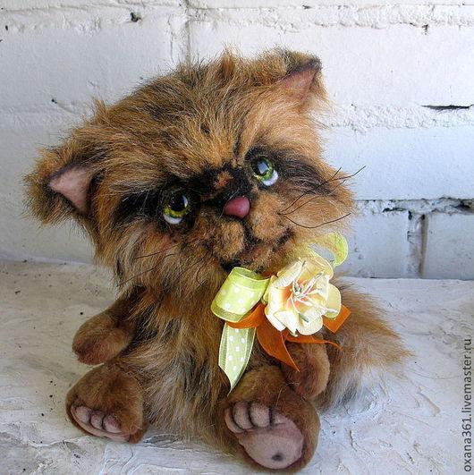 """Мишки Тедди ручной работы. Ярмарка Мастеров - ручная работа. Купить кот  Друзья Тедди  """"кот Трям"""". Handmade."""