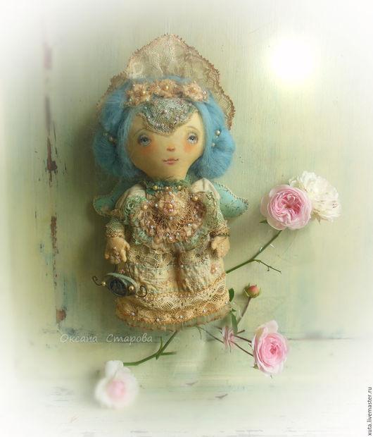 Ароматизированные куклы ручной работы. Ярмарка Мастеров - ручная работа. Купить Утро нежное. Handmade. Бежевый, подарок на день рождения
