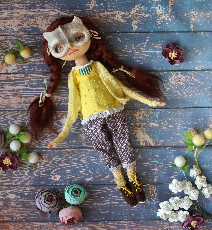 Owl, textile doll, Dolls, Krasnoyarsk,  Фото №1