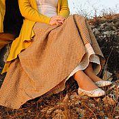 Одежда ручной работы. Ярмарка Мастеров - ручная работа Комплект юбок из льна Арт.017. Handmade.
