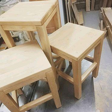 Мебель ручной работы. Ярмарка Мастеров - ручная работа Табурет №2. Handmade.