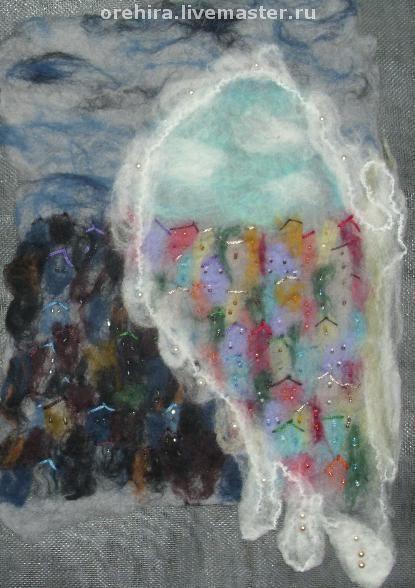 """Символизм ручной работы. Ярмарка Мастеров - ручная работа. Купить Панно """"Крыло ангела"""". Handmade. Крыло ангела, крыло"""