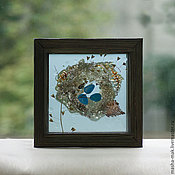 Подарки к праздникам ручной работы. Ярмарка Мастеров - ручная работа Гнездо дрозда. Handmade.