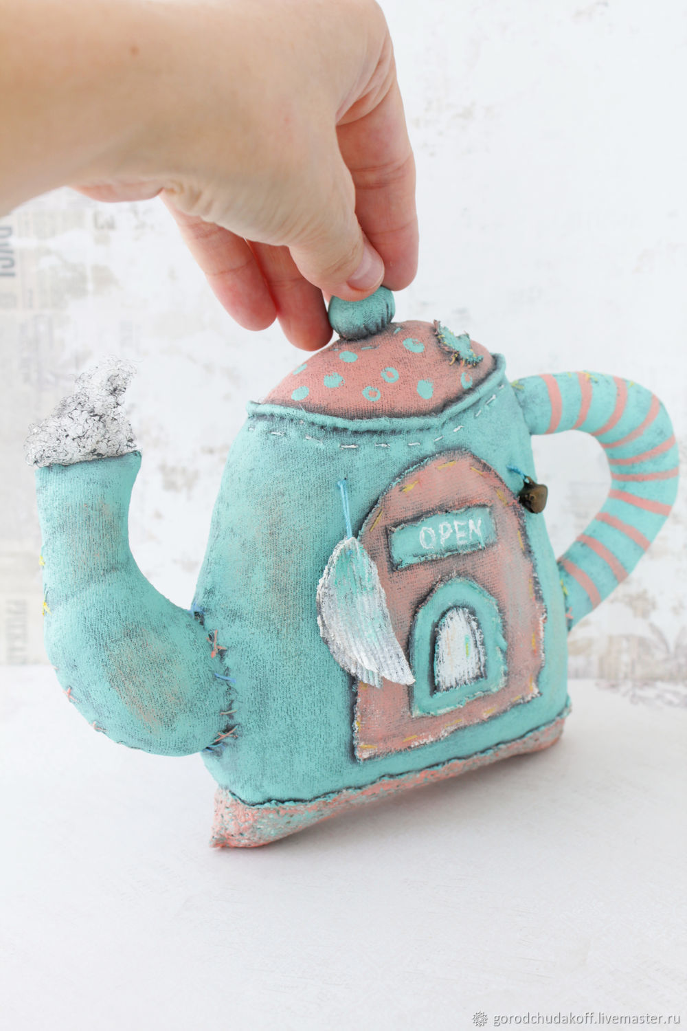 Nursery handmade. Livemaster - handmade. Buy Fairy House for Angel. Textile toy.Sweet home, for kitchen