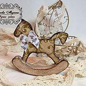 Куклы и игрушки handmade. Livemaster - original item The horse on the tree. Handmade.