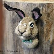 Куклы и игрушки ручной работы. Ярмарка Мастеров - ручная работа Заяц (animal sculpture). Handmade.