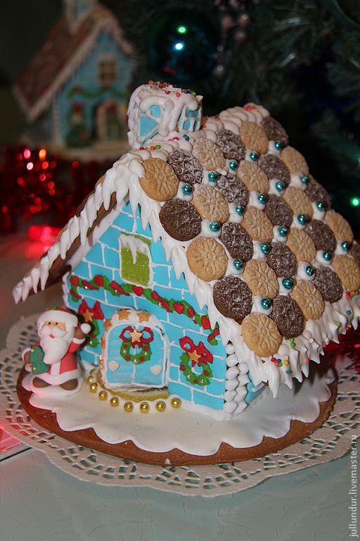 Кулинарные сувениры ручной работы. Ярмарка Мастеров - ручная работа. Купить Праздник на пороге,Дед мороз стучится в дверь...... Handmade.
