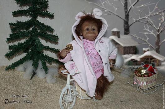 Куклы-младенцы и reborn ручной работы. Ярмарка Мастеров - ручная работа. Купить Bindi 2 , реборн-примат из одноименного молда.. Handmade.