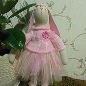 Куклы и игрушки ручной работы. Ярмарка Мастеров - ручная работа Зайка балерина. Handmade.