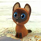 Куклы и игрушки handmade. Livemaster - original item Kotenok Gav. felt. Handmade.