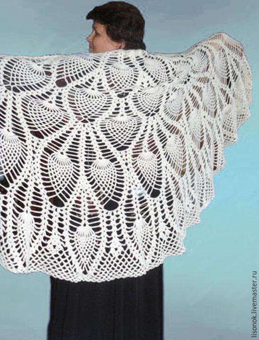Shawl crochet 'Pineapple dream', Shawls, Chekhov,  Фото №1