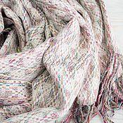 Аксессуары handmade. Livemaster - original item Tweed scarf from Dior fabric