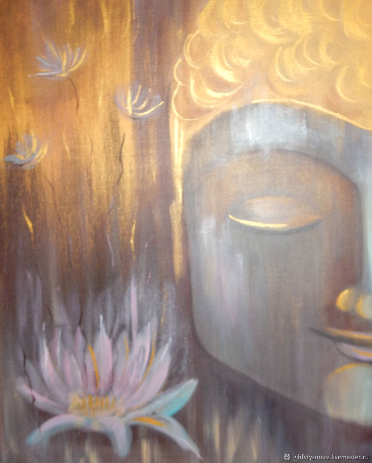 Painting 'Abstract Buddha' to order, Pictures, St. Petersburg,  Фото №1