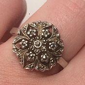 Винтаж ручной работы. Ярмарка Мастеров - ручная работа Марказиты, винтажное кольцо. Handmade.