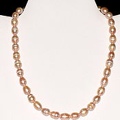 Работы для детей, handmade. Livemaster - original item Natural pearl beads. Handmade.