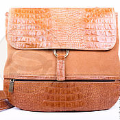 Сумки и аксессуары handmade. Livemaster - original item Women`s leather bag collection brown. Handmade.
