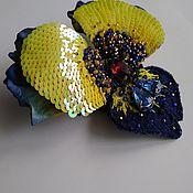 Украшения handmade. Livemaster - original item brooches: Pansy. Handmade.