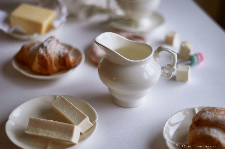Классический молочник ручной работы, керамика, Графины, Жуковский,  Фото №1