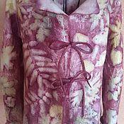 """Одежда ручной работы. Ярмарка Мастеров - ручная работа Валяный жакет """"Комфорт"""". Handmade."""