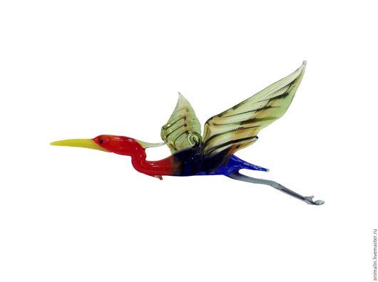 Interior Items handmade. Livemaster - handmade. Buy Interior hanging decoration stained glass bird Egret Sump.Heron, vase