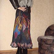 """Одежда ручной работы. Ярмарка Мастеров - ручная работа Теплая валяная юбка """"Ирландские мотивы"""". Handmade."""