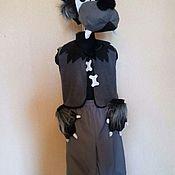 Работы для детей, handmade. Livemaster - original item Wolf Costume. Handmade.