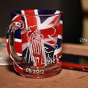 """Посуда ручной работы. Ярмарка Мастеров - ручная работа Кружка """"Tea time""""(""""Время чая""""). Handmade."""