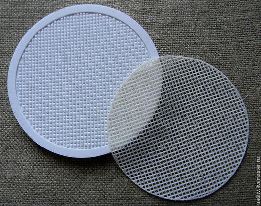 """Кухня ручной работы. Ярмарка Мастеров - ручная работа. Купить Молд """"Сетка под вышивку круг"""". Handmade. Комбинированный, молд"""