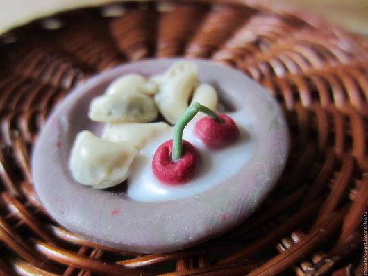 Миниатюрная еда из полимерной глины. Еда для кукол, игрушек, кукольных домиков, румбоксов, кулинарных композиций. Кулинарные муляжи. Ручная работа. Handmade.