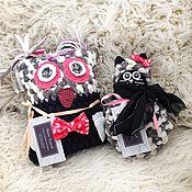 Куклы и игрушки ручной работы. Ярмарка Мастеров - ручная работа Домовята, интерьерные подушки, сова и кот. Handmade.