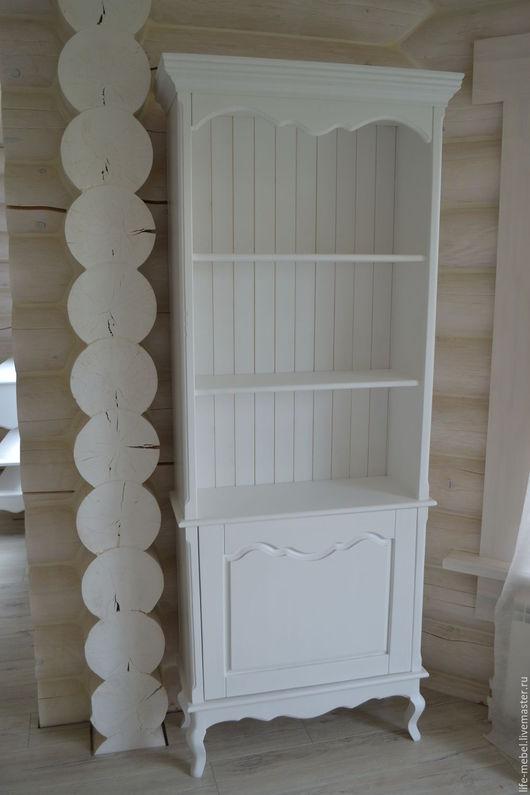 Мебель ручной работы. Ярмарка Мастеров - ручная работа. Купить Шкаф под книги Provence. Handmade. Белый, прованский стиль