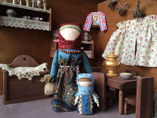 Народные куклы ручной работы. Ярмарка Мастеров - ручная работа. Купить Кукла Берегиня. Handmade. Синий, интерьерная кукла