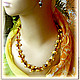 beads 'bumps' amber, Necklace, Moscow,  Фото №1
