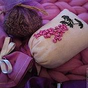 Сувениры и подарки ручной работы. Ярмарка Мастеров - ручная работа Саше с лавандой. Handmade.