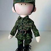 Игрушки ручной работы. Ярмарка Мастеров - ручная работа Итерьерная текстильная кукла. Handmade.