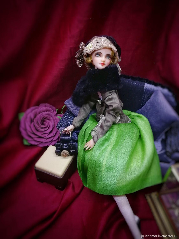 Куклы: Девушка 20х годов, Куклы и пупсы, Павловская,  Фото №1