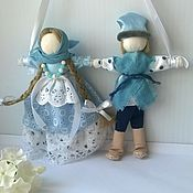 Folk Dolls handmade. Livemaster - original item Nerazluchniki Nezhnost wedding dolls. Handmade.