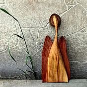 Русский стиль handmade. Livemaster - original item angel. Dreams can come true! Figurine carved from wood.. Handmade.