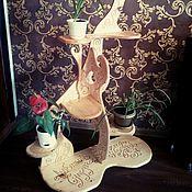 Подставки ручной работы. Ярмарка Мастеров - ручная работа Подставка под цветы .. Handmade.