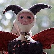 Куклы и игрушки ручной работы. Ярмарка Мастеров - ручная работа текстильная кукла - другая бабочка. Handmade.