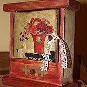 """Для дома и интерьера ручной работы. Ярмарка Мастеров - ручная работа Ключница """"Отголосок прошлого"""". Handmade."""