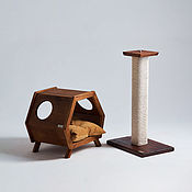 handmade. Livemaster - original item Duo furniture for cats