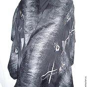 """Аксессуары ручной работы. Ярмарка Мастеров - ручная работа Палантин """"Black """". Handmade."""