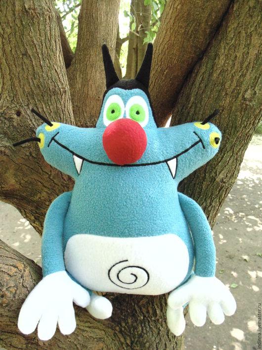 Сказочные персонажи ручной работы. Ярмарка Мастеров - ручная работа. Купить Кот Огги - мягкая игрушка. Handmade. Кот, кукарачи