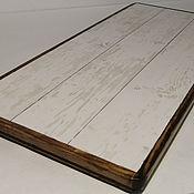 Для дома и интерьера handmade. Livemaster - original item Ceramic thermal stand on wooden platform PCT-G0000006. Handmade.