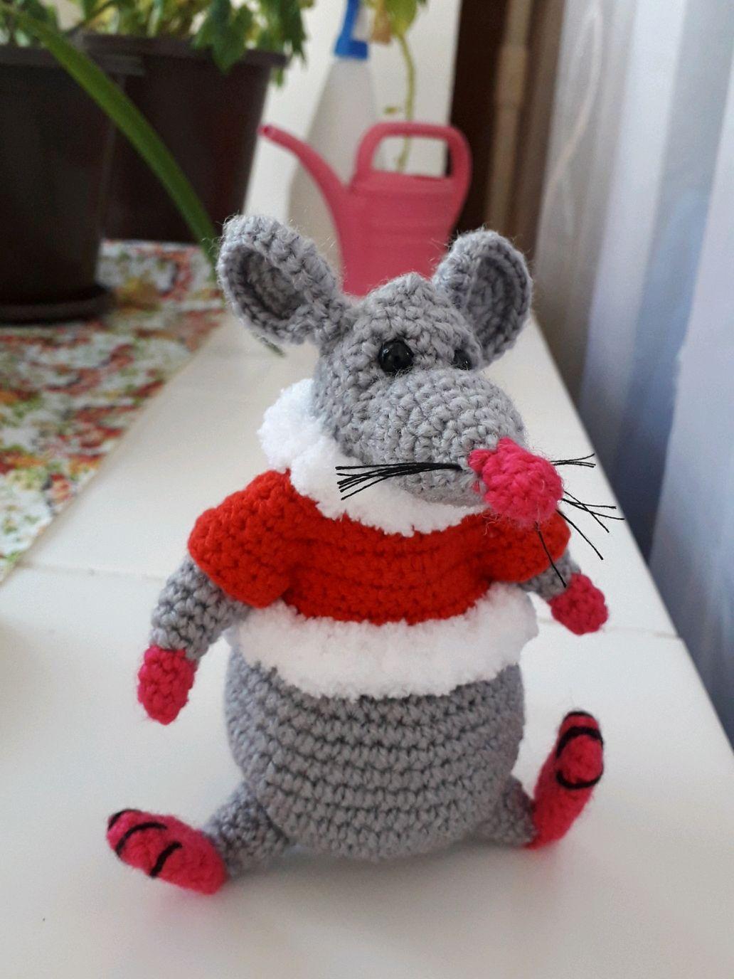 Крыс новогодний, Мягкие игрушки, Саров,  Фото №1