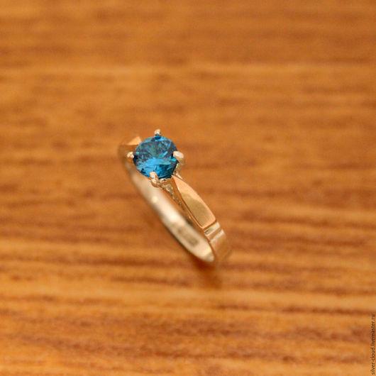 Кольца ручной работы. Ярмарка Мастеров - ручная работа. Купить Серебряное кольцо Осколки с золотыми накладками, серебро 925. Handmade.